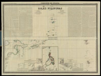 Islas Filipinas, 3a hoja  / por el teniente coronel de ingenieros D. Francisco Coello ; las notas estadisticas e historicas han sido escritas por D. Pascual Madoz