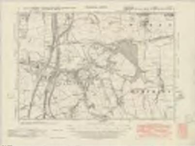 Derbyshire XIII.SW - OS Six-Inch Map