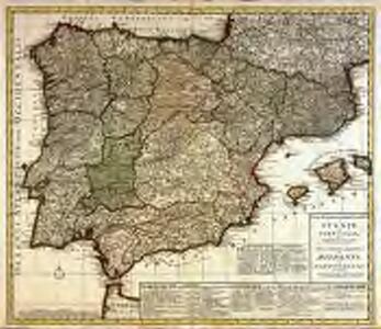 Weg-wyzer der legertogten in Spanje en Portugaal