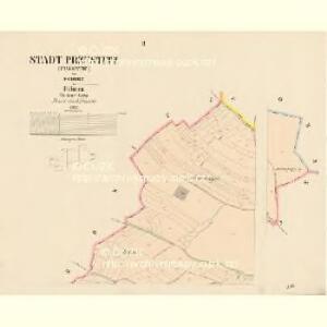 Przestitz (Przestic) - c6218-1-002 - Kaiserpflichtexemplar der Landkarten des stabilen Katasters