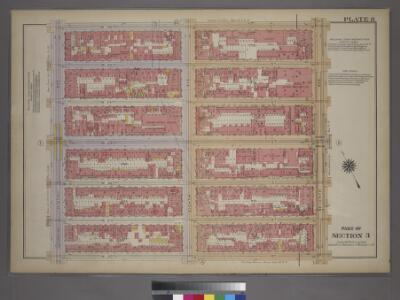Plate 8, Part of Section 3: [Bounded by W. 26th Street, Seventh Avenue, W. 20th Street and Ninth Avenue.]