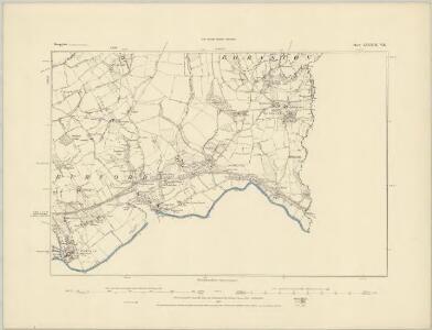 Shropshire LXXXII.NE - OS Six-Inch Map