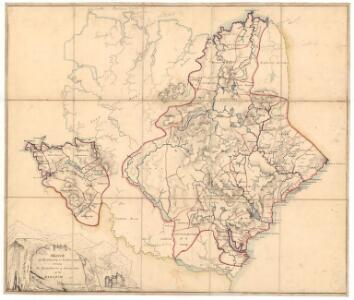 Sketch of the the county of Sutherland showing the boundaries & divisions of the earldom of Sutherland.