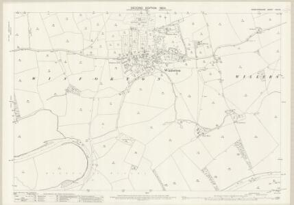 Herefordshire XXIV.15 (includes: Bredwardine; Clifford; Whitney; Willersley; Winforton) - 25 Inch Map