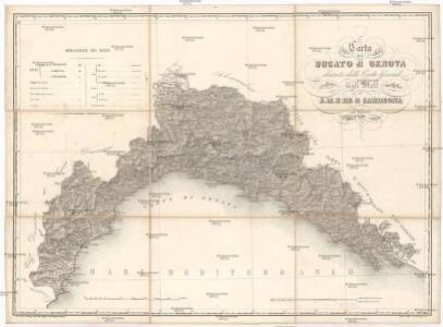 Carta del ducato di Genova