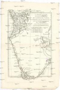 La Basse Guinée, contenant les royaumes de Loango, de Congo, d'Angola et de Benguela, avec la Cafrérie occidentale et la méridionale, ou le pays des Hotentots