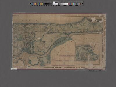 Topographical map of the city of New York, showing original water courses and made land ; prepared under direction of Egbert L. Viele, Topogr. Eng'r. Bound with his Topography and Hydrology of New York.