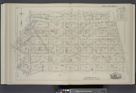 Vol. 6. Plate, I. [Map bound by Conselyea St., Bushwick Ave., Ten Eyck St., S. Second St., Eleventh St., Grand St., Tenth St., Union Ave.; Including N. Second St., Devoe St., Ainslie St., Hope St., Powers St., S. First St., Maujer St., Lorimer St., Leona