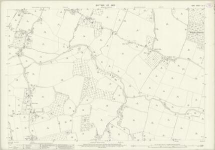 Kent LII.6 (includes: Hunton; Linton; Marden) - 25 Inch Map
