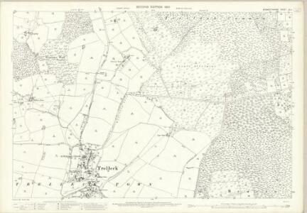 Monmouthshire XX.4 (includes: Trelech United) - 25 Inch Map