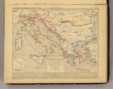 L'Empire Ottoman, l'Italie, 1400 a 1500.