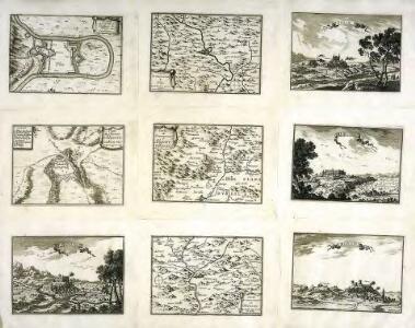 Plan de la ville, et chasteau de Flix, en Catalogne