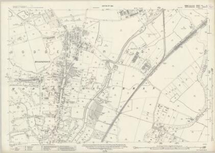 Essex (New Series 1913-) n LI.5 (includes: Hoddesdon) - 25 Inch Map