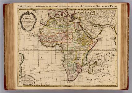 Carte d'Afrique.