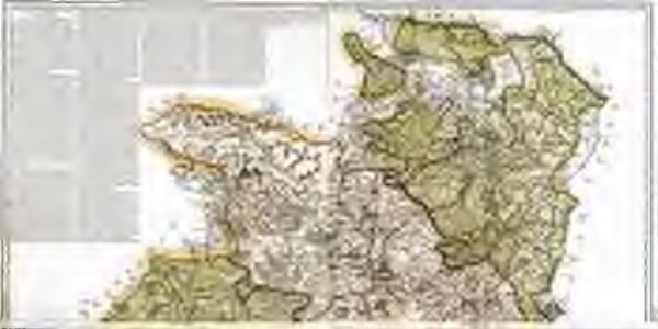 Mapa geográfico de la provincia de Soria, 1