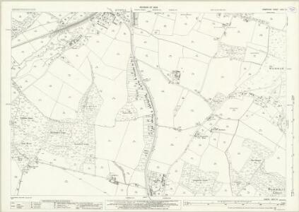 Hampshire and Isle of Wight LXVII.13 (includes: Boarhunt; Fareham; Wickham) - 25 Inch Map