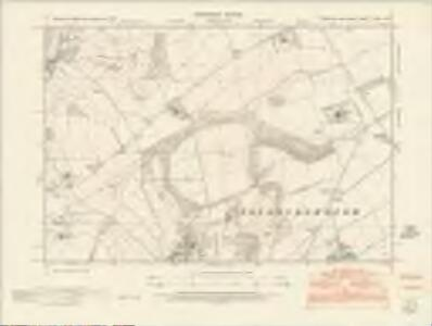 Yorkshire CXCIV.NW - OS Six-Inch Map