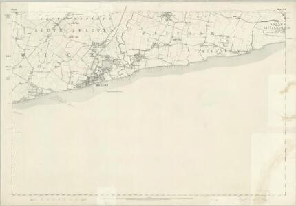 Sussex LXXIV - OS Six-Inch Map