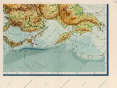 Nástěnná mapa Asie