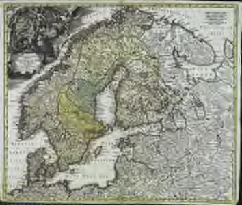 Scandinavia complectens Sueciæ Daniæ & Norvegiæ regna