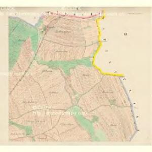 Janowitz (Janowice) - c2763-1-002 - Kaiserpflichtexemplar der Landkarten des stabilen Katasters