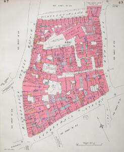 Insurance Plan of City of London Vol. III: sheet 67
