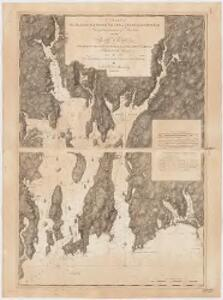 Charts of the coast and harbors of New England : from surveys taken by Saml. Holland Esqr. Survr. Genr. of Lands for the Northern District of North America and Geo. Sproule, Chas. Blaskowitz, Jam.s Grant and Thos. Wheeler his assistants : Harbor of Rhode Island and Narragansett Bay