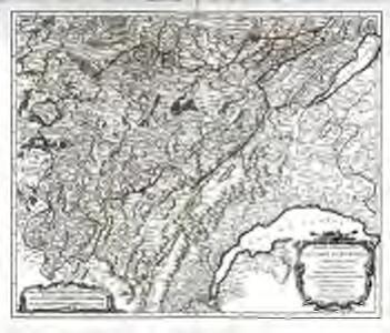 Partie méridionale du comté de Bourgogne ou Franche-Comté
