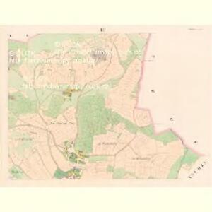 Misliw - c4919-1-002 - Kaiserpflichtexemplar der Landkarten des stabilen Katasters