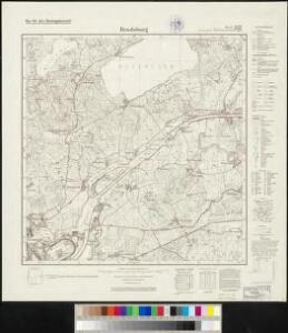 Meßtischblatt 359, neue Nr. 1624 : Rendsburg, 1937