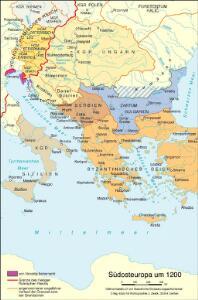 Südosteuropa um 1200
