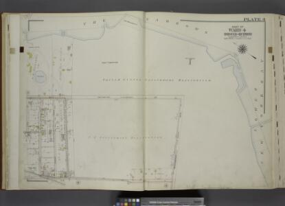 Part of Ward 4. [Map bound by The Narrows, Lower New  York Bay, Richmond Ave, Tompkins Ave, Lyman Ave, Summer St, High St, Bay St (New York St)]