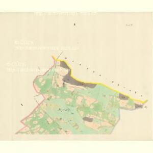 Hutisko - m0938-1-001 - Kaiserpflichtexemplar der Landkarten des stabilen Katasters