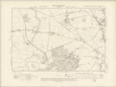 Yorkshire CCLXXVI.SE - OS Six-Inch Map