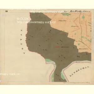 Cwalatitz - m0989-1-008 - Kaiserpflichtexemplar der Landkarten des stabilen Katasters