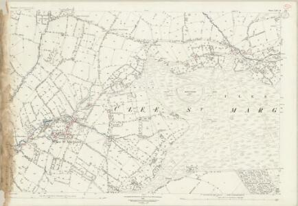 Shropshire LXV.14 (includes: Abdon; Clee St Margaret; Heath; Stoke St Milborough) - 25 Inch Map