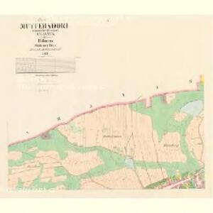 Muttersdorf - c4907-1-001 - Kaiserpflichtexemplar der Landkarten des stabilen Katasters