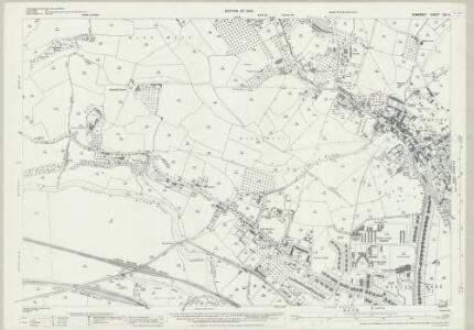 Somerset XIII.4 (includes: Bath; Kelston; Newton St Loe; Weston) - 25 Inch Map