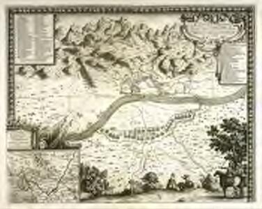 Plan de la ville et chasteau de Tortose en Catalogne