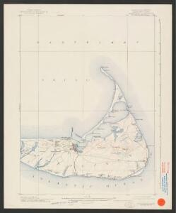 Nantucket quadrangle, Massachusetts