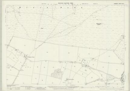 Somerset XVIII.10 (includes: Blagdon; Burrington; Cheddar; Shipham) - 25 Inch Map