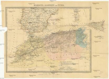 Marocco, Algerien und Tunis