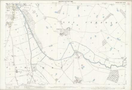 Cheshire XLVI.16 (includes: Aldford; Churton Heath; Coddington; Handley; Lea Newbold) - 25 Inch Map