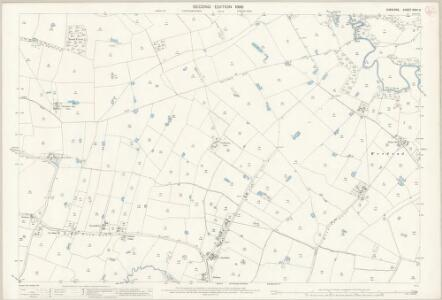 Cheshire XXVII.3 (includes: Ashley; Mobberley; Ringway) - 25 Inch Map
