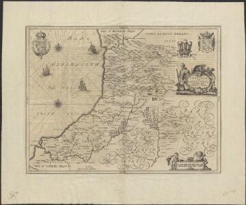 Ceretica, sive Cardiganensis Comitatus, anglis Cardigan Shire