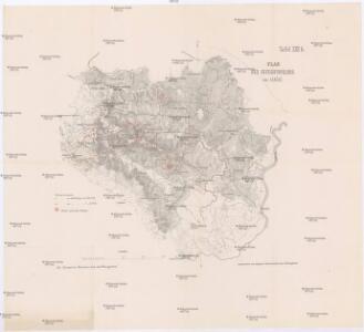 Plan des Gefechtsfeldes von Izačić