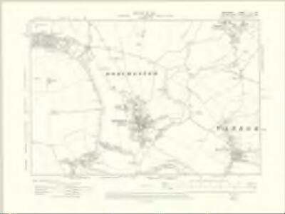 Berkshire XI.SW - OS Six-Inch Map
