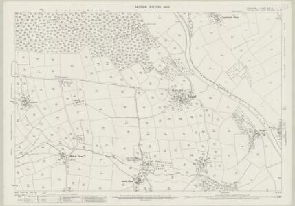 Cornwall XXIII.11 (includes: Milton Abbot; Stoke Climsland; Sydenham Damerel) - 25 Inch Map