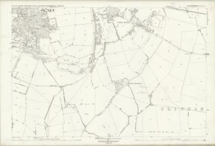 Buckinghamshire V.3 (includes: Clifton Reynes; Emberton; Olney) - 25 Inch Map
