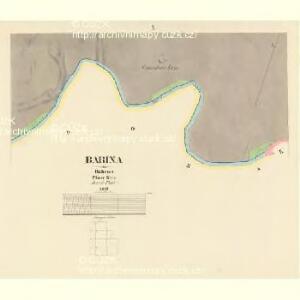 Babina - c0050-1-008 - Kaiserpflichtexemplar der Landkarten des stabilen Katasters